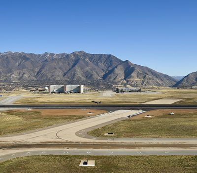 HIll AFB runway construction project complete