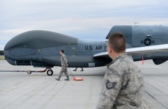 Global Hawk makes historic first landing at RED FLAG Alaska
