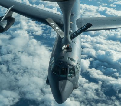 KC-135s Refuel B-52s