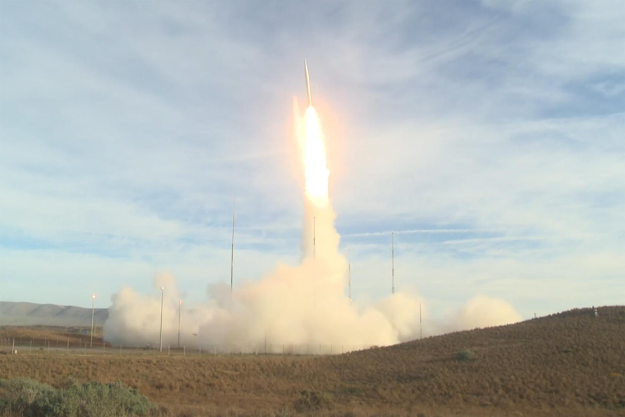 Air Force Tests New Intermediate-Range Ballistic Missile - Air Force Magazine