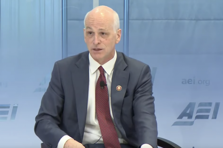 House Armed Services Committee Chairman Rep. Adam Smith (D-Wash.) speaks at the American Enterprise Institute Dec. 5, 2019.