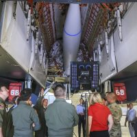 Expanded carriage demonstration showcases possible B-1B capability