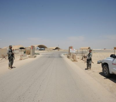 Security Forces Airmen Protect, Secure Airfield