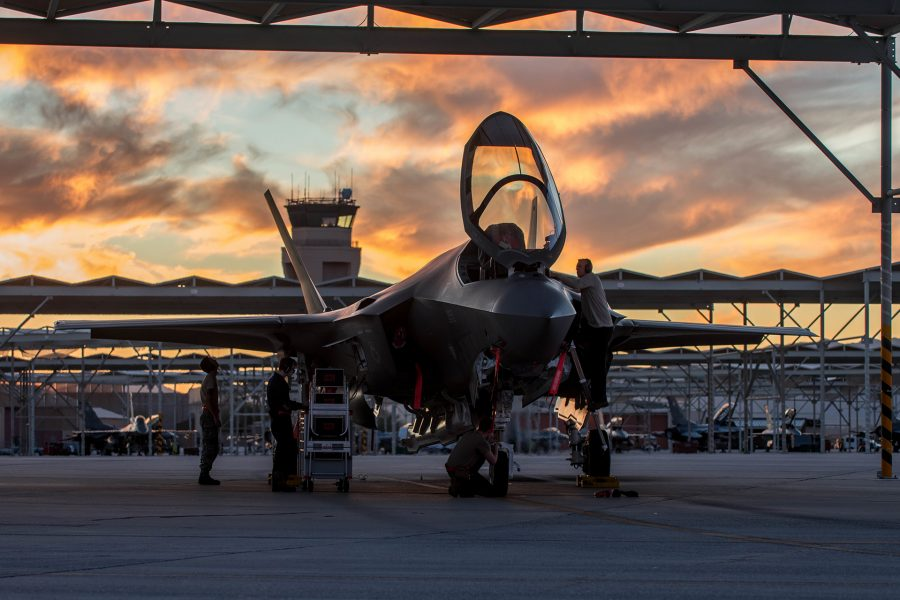 63rd Aircraft Maintenance Unit Maintainers Recover Jets in the Sunlight
