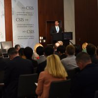 Defense Secretary Mark Esper at CSIS
