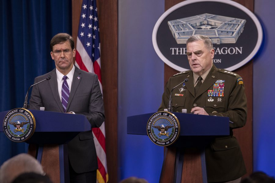 Esper and Milley Joint Press Conference