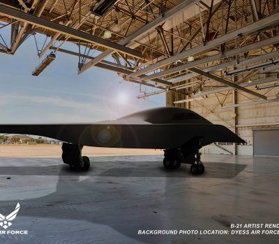 B-21 Dyess AFB Rendering