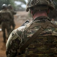 Task Force Warrior Soldiers Stand Watch in East Africa
