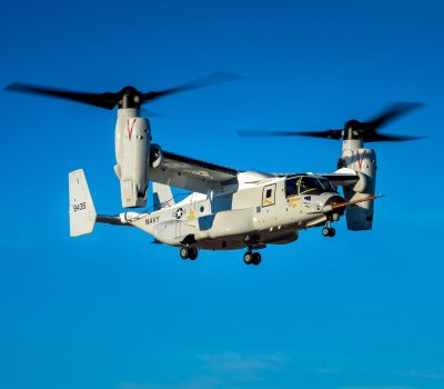 CMV-22 First Flight