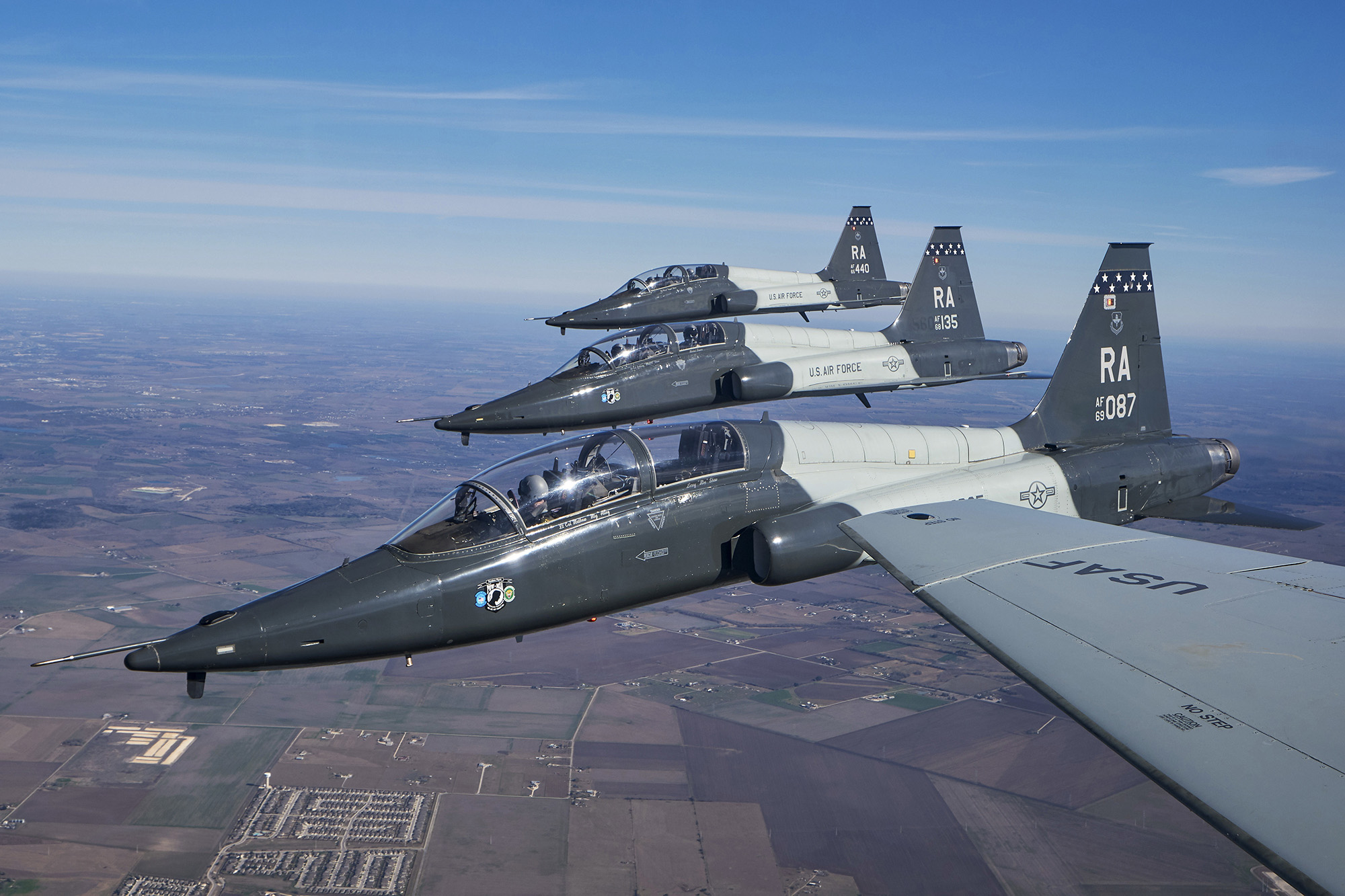 T-38C formation flying