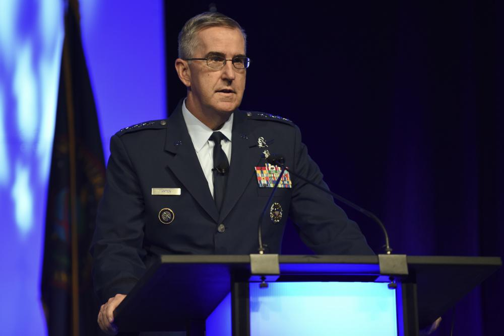 Hyten Lays Out Priorities as Pentagon's No. 2 Officer - Air Force Magazine