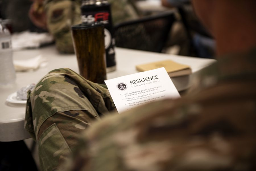 Chaplain gets 'real' during resiliency training