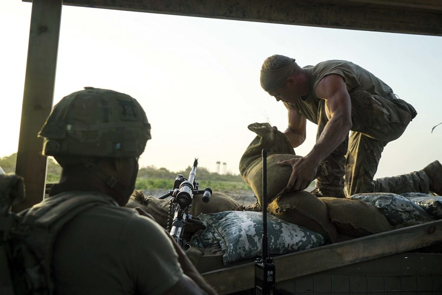 101st Airborne provide security in Kenya