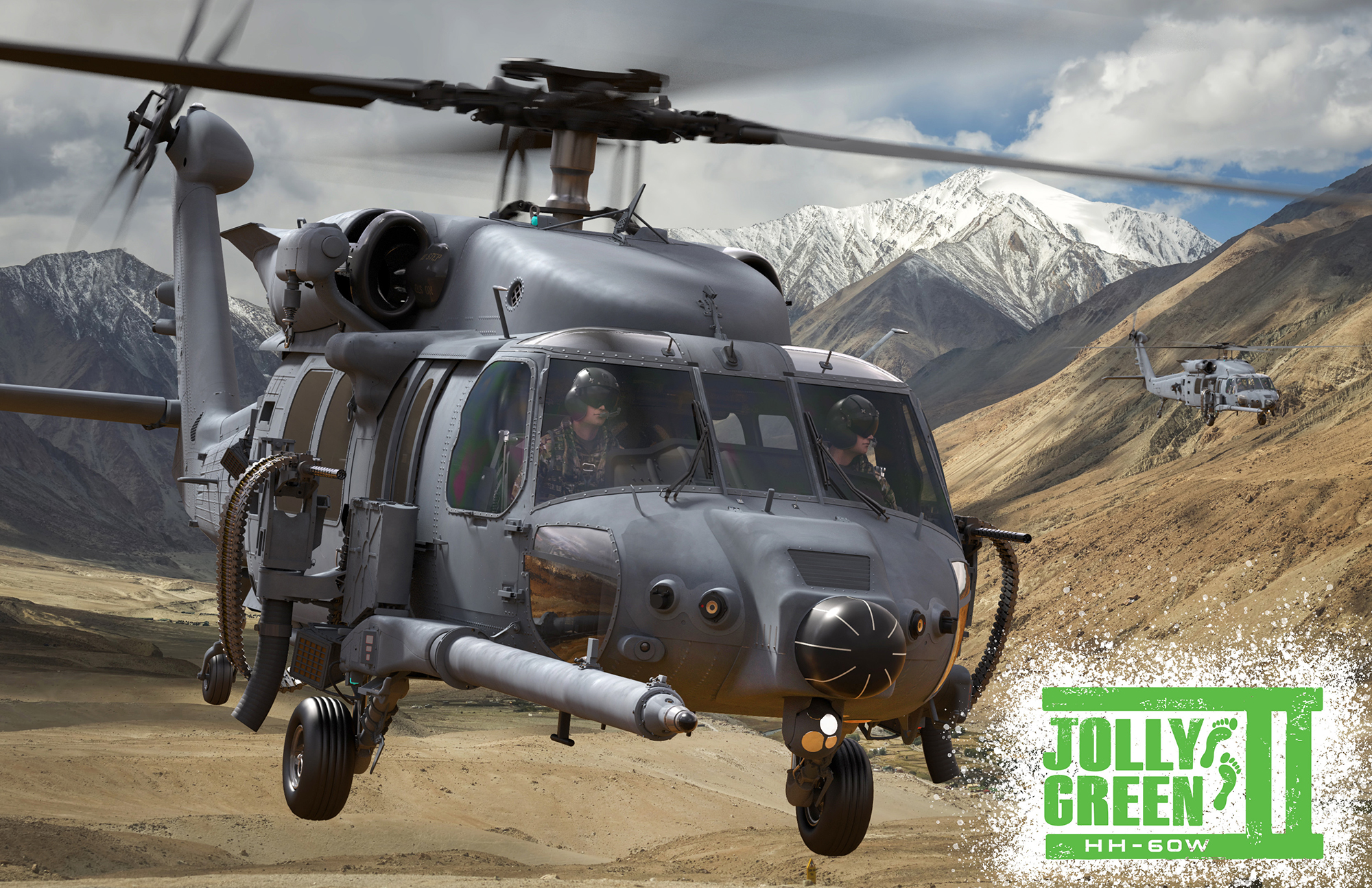 Combat Rescue Helicopter Named the 'Jolly Green II' - Air Force Magazine