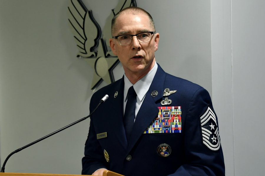 Chief Master Sgt. Roger Towberman