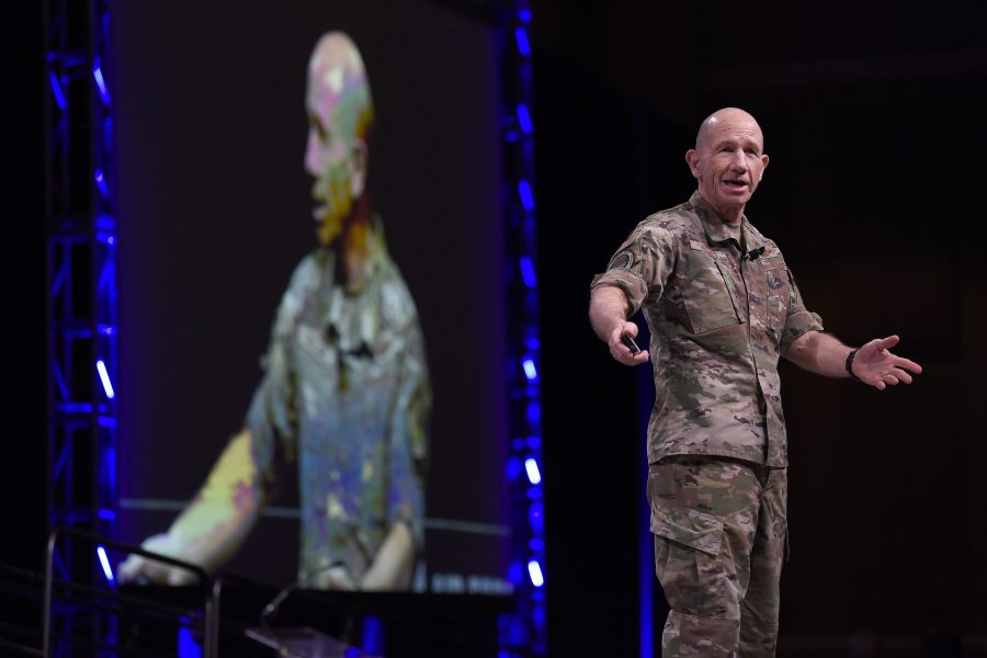 Gen. Mike Holmes, Air Combat Command