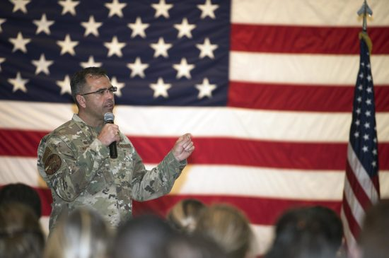 Col. Mastalir and Chief Hogan host first VAFB all-call