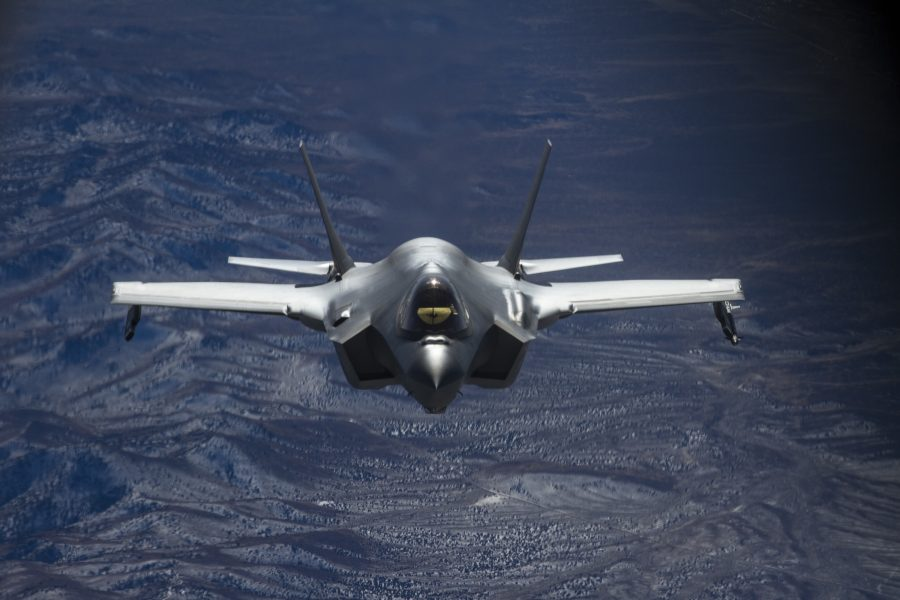 Utah Guard refuels Hill F-35s en masse