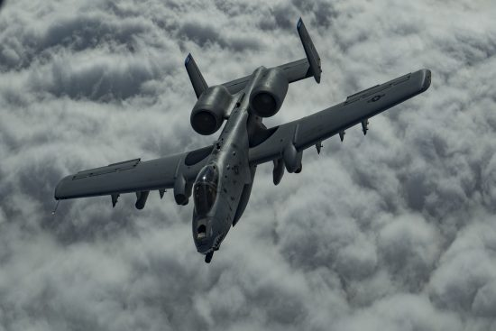 A-10 Flies Above CENTCOM