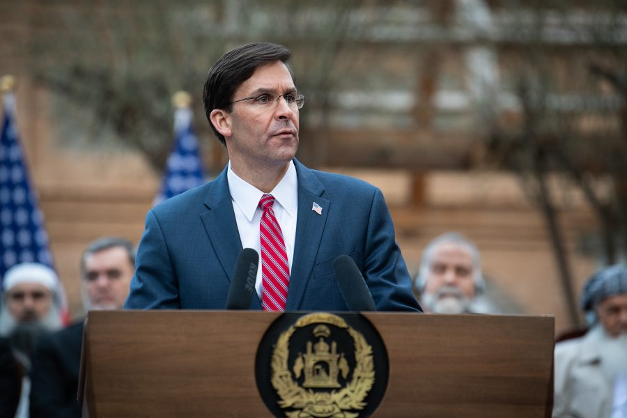 SecDef Esper Speaks at U.S.-Afghanistan Joint Declaration Announcement
