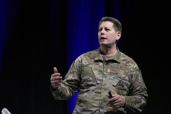 Lt. Gen. David Thompson at AWS 2020