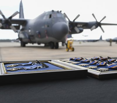 Gunship crew awarded 14 medals for joint SOF Afghanistan mission