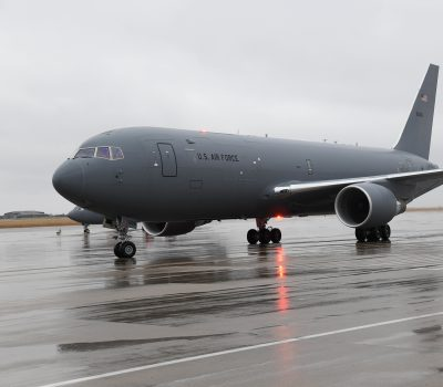 McConnell Welcomes KC-46 #21 to the Fleet