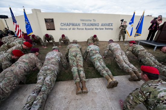 JBSA training annex dedicated to fallen Air Force Medal of Honor recipient