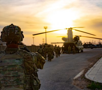 Coalition forces prepare Al Qa'im Base for transfer to Iraqi Security Forces