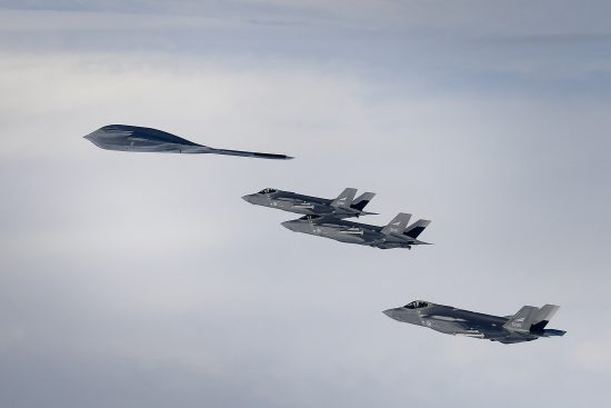 Royal Norwegian Air Force supports Bomber Task Force Europe