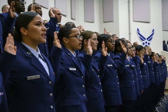 U.S. Air Force Basic Military Training Graduation