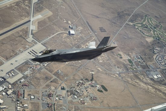 Edwards F-35 testers nominated for prestigious aviation award