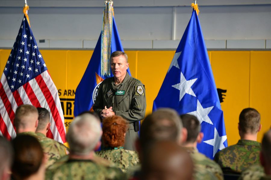 EUCOM All Hands with Gen. Wolters