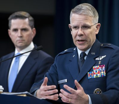 Defense Officials Brief About COVID-19