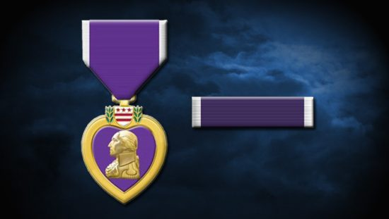 Purple Heart award