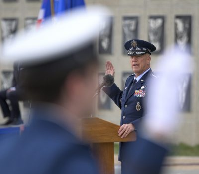 Air and Space Force Cadet Graduation