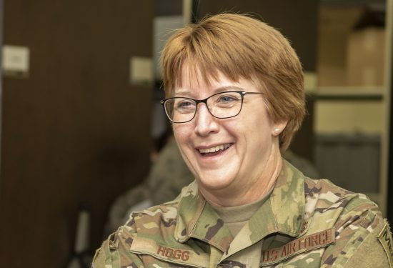 Air Force Surgeon General Lt. Gen. Dorothy Hogg