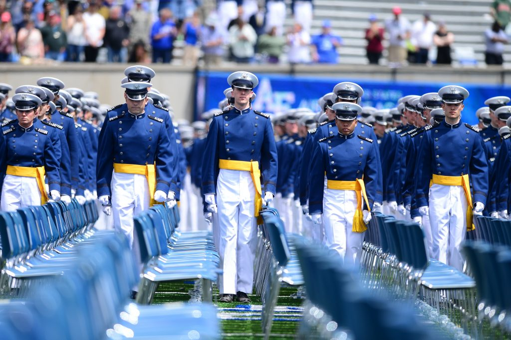 USAFA Cadet Wing Commander to Alumni: 'Stand Behind Us' - Air Force Magazine