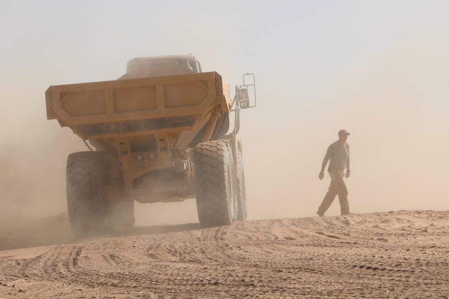 819th Expeditionary RED HORSE construction at Niger Air Base 201