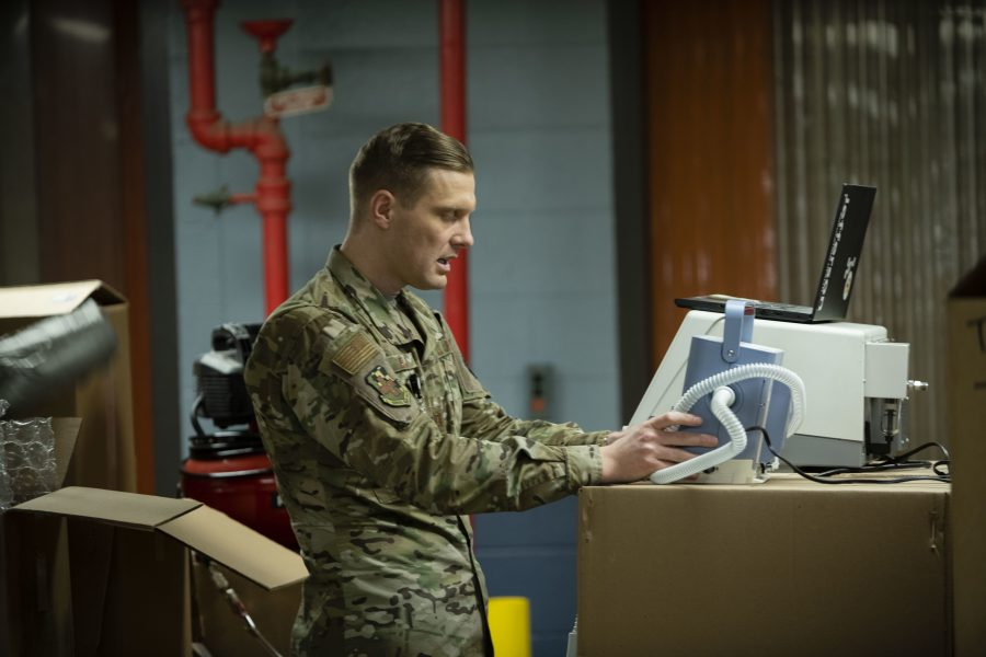 Michigan National Guard COVID-19 Response: Protecting Medical Professionals with Innovation