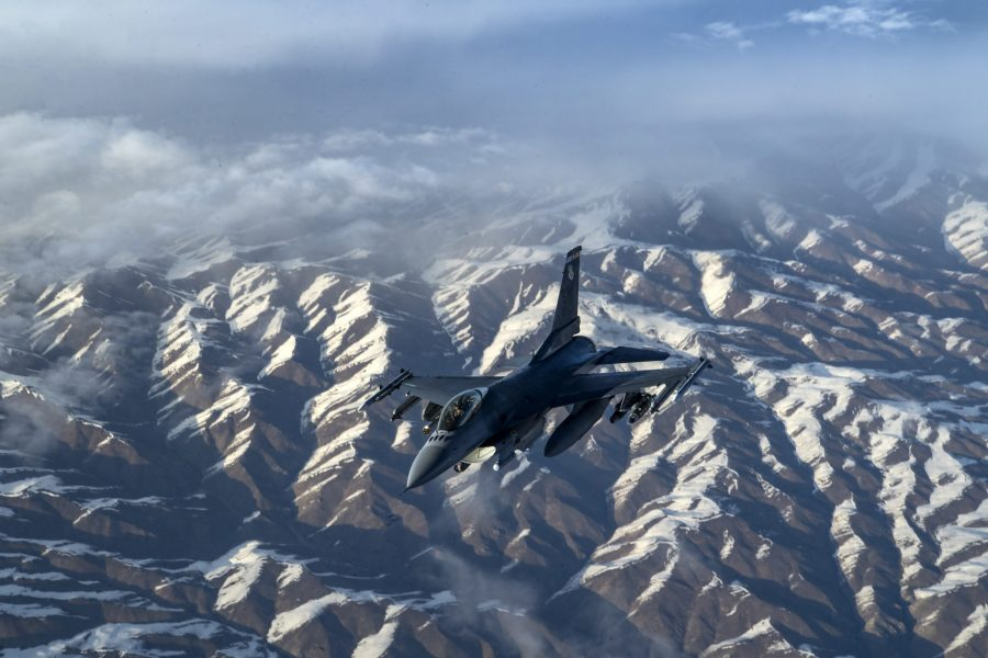 28th EARS refuels Fighting Falcons over Afghanistan