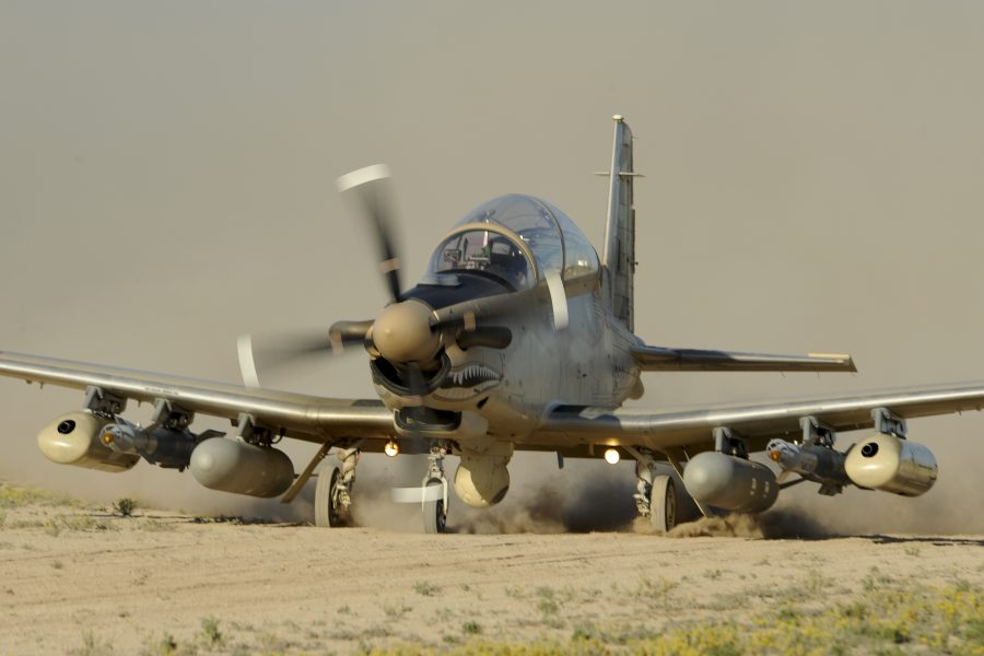 AT-6B Wolverine Austere Runway Ops