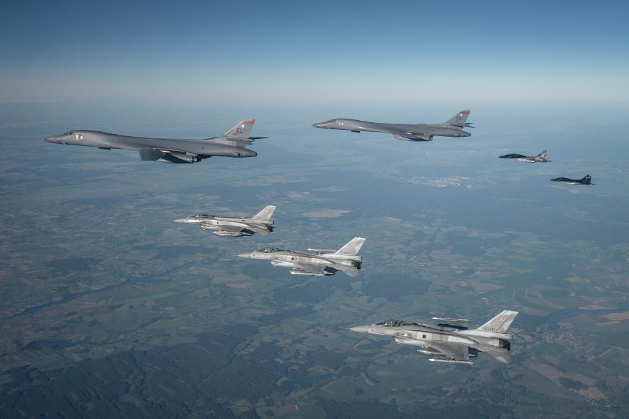B-1s in Europe