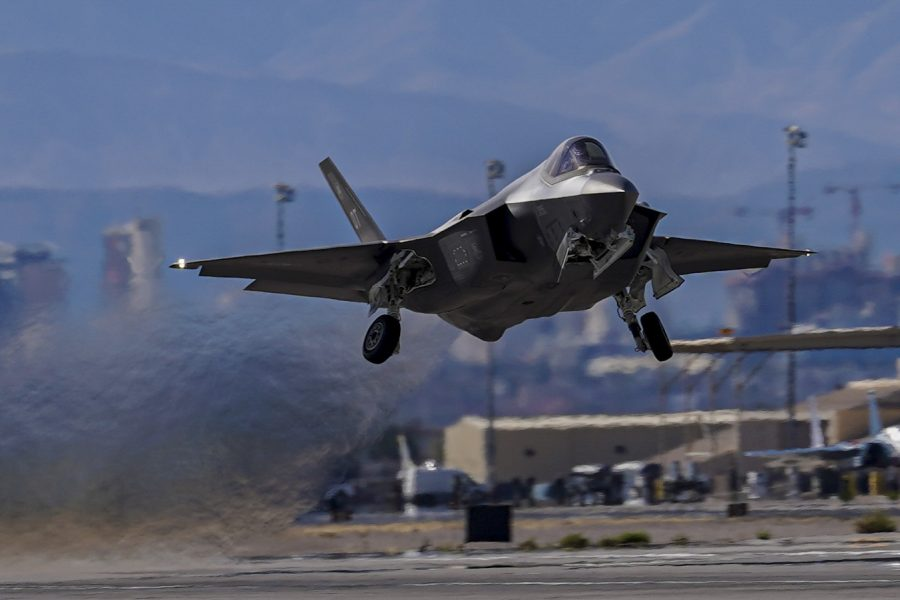 Nellis aircraft take off during WSINT