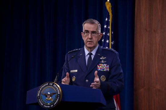 Top DOD Officials Hold News Conference
