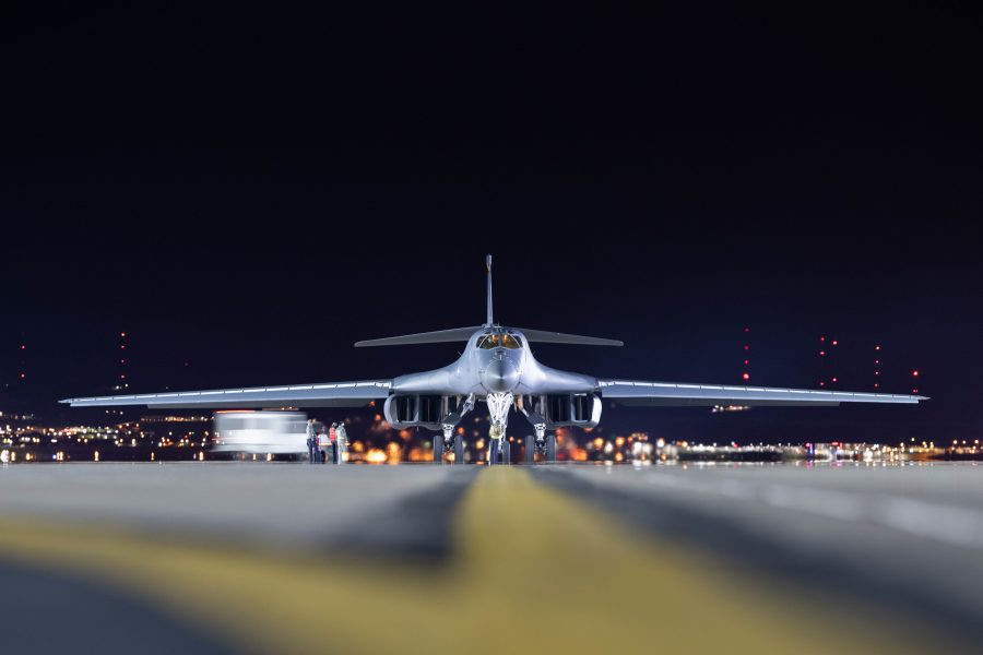 Pair of Ellsworth B-1s further demonstrate force employment model in Pacific