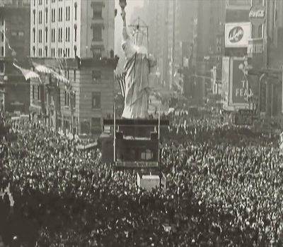 Victory In Europe 1945 New York