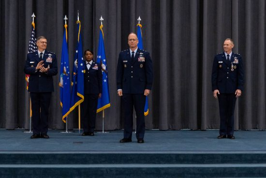 061520 8th AF Change of Command