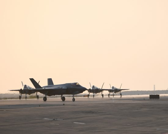 F-35s at Al Dhafra