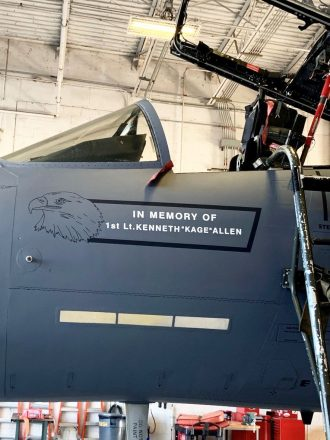 Warner Robins Air Logistics Complex honors fallen Lakenheath pil